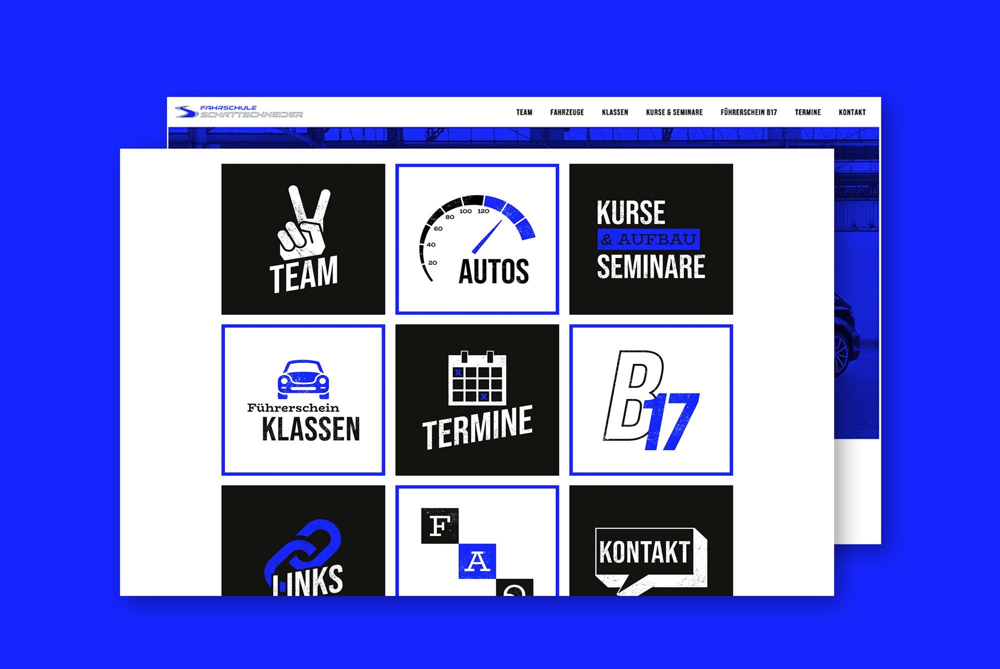 Fahrschule Schattschneider - Branding, Corporate & Web Design by COJU Branding